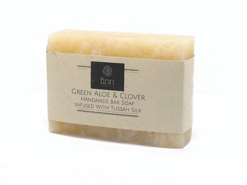 Green Aloe & Clover Bar Soap