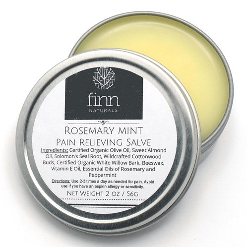Rosemary Peppermint Pain Relieving Salve