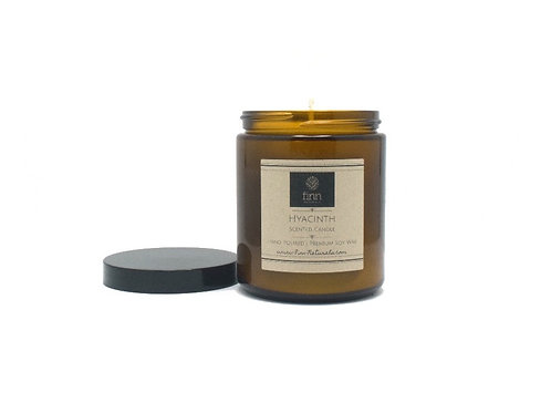 Hyacinth Scented Soy Candle