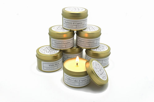 Pick 3 Scented Soy Travel Candles