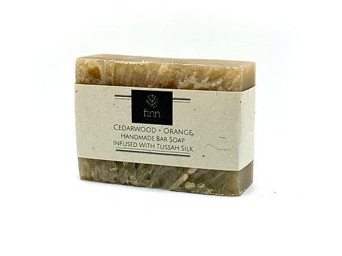 Cedarwood + Orange Bar Soap