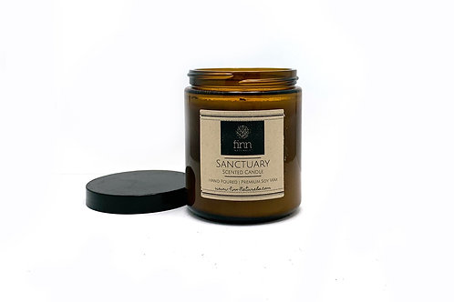 Sanctuary Scented Soy Candle