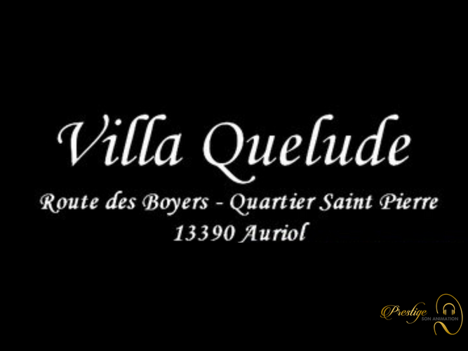 Notre Partenaire Villa Quelude
