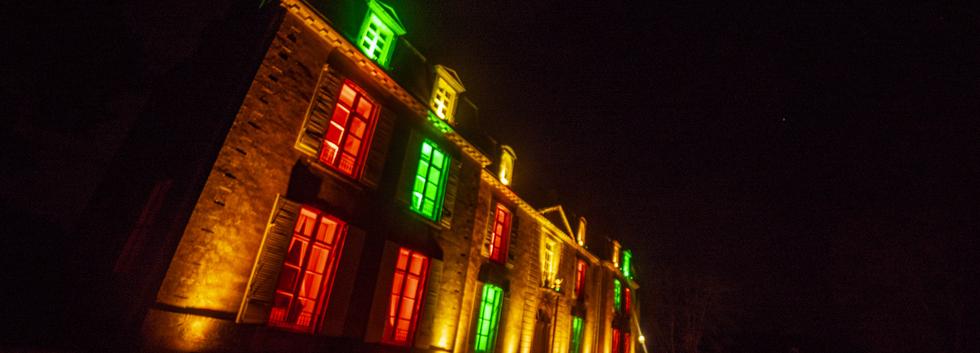 eclairage façade mariage vaucluse