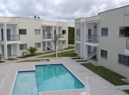 Ref.: 405 - Apartamento para temporada a 100 metros da Praia de Araçaipe em Arraial d'Ajuda