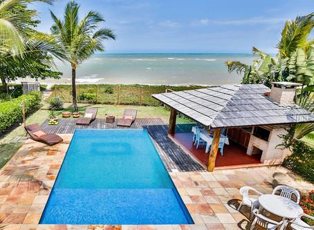 Ref.: 346 - Casa para Temporada, na Praia de Araçaipe, em Arraial d'Ajuda