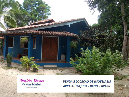 Ref.: 240 - Casa avarandada com 02 dormitórios em Arraial d'Ajuda