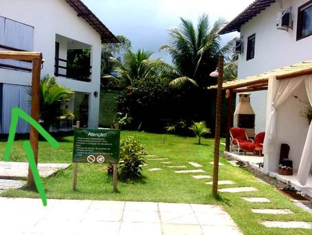 Ref.: 436 - Linda casa em condomínio na Estrada da Balsa, em Arraial d'Ajuda a 100 metros da praia