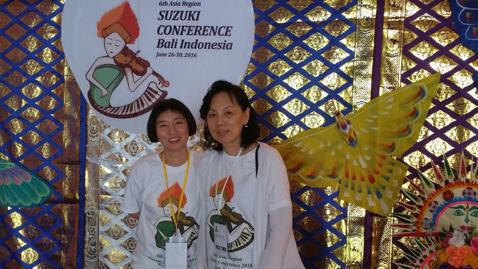 6th Asia Region: Suzuki Conference Bali Indonesia