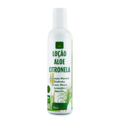 Loção Aloe Citronela 200ml Livealoe