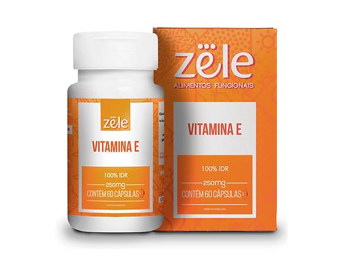 Suplemento Zele Vitamina E 60 Cápsulas