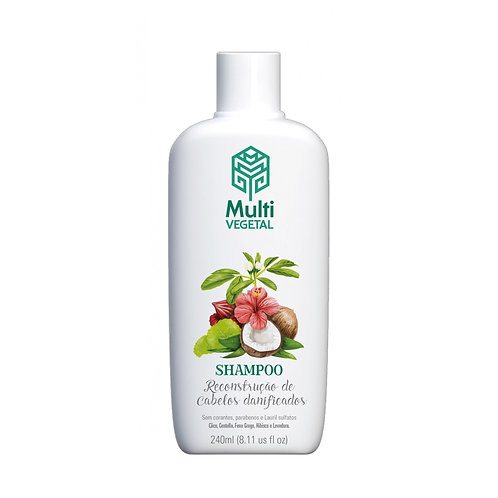 Shampoo Reconstrução de Coco Multivegetal