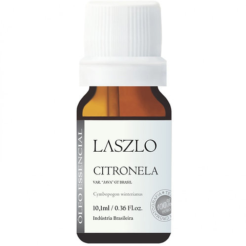 Óleo Essencial de Citronela da Laszlo 10,1ml