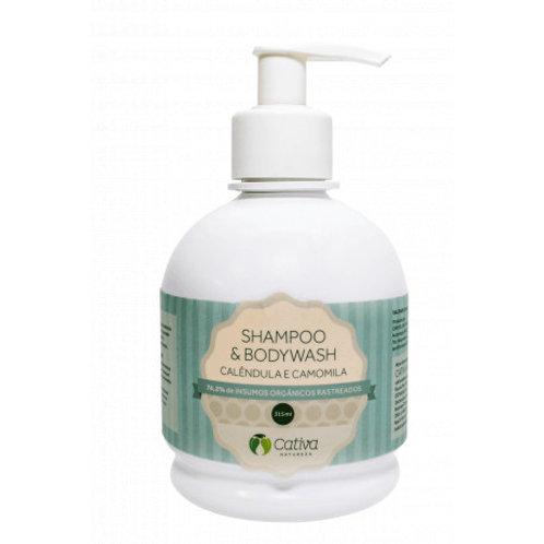 Shampoo e Bodywash Cativa