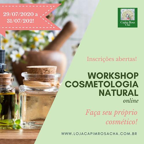 Workshop de Cosmetologia Natural