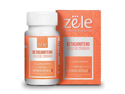 Suplemento Zele Betacaroteno 60 Cápsulas