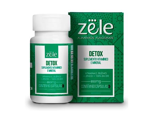 Suplemento Zele Detox 60 Cápsulas