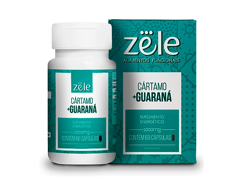 Suplemento Zele Guaraná 60 Cápsulas