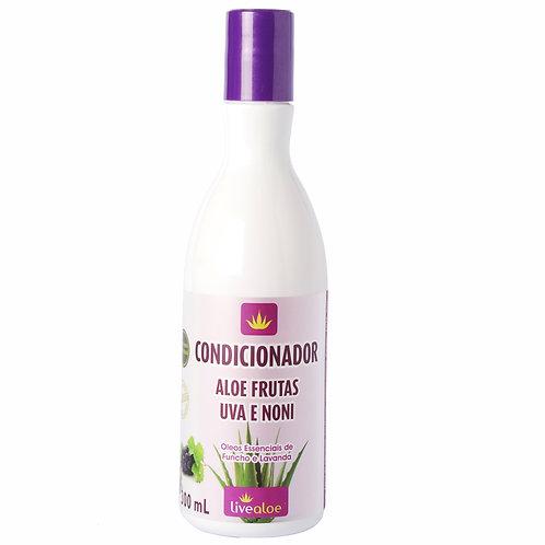 Condicionador Aloe Frutas Uva e Noni 300ml Livealoe