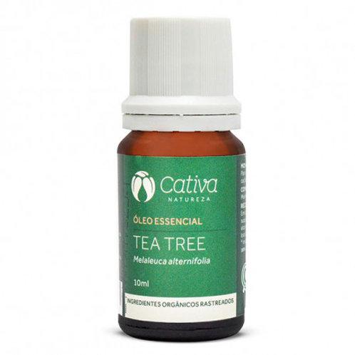 Óleo Essencial de Tea Tree Cativa