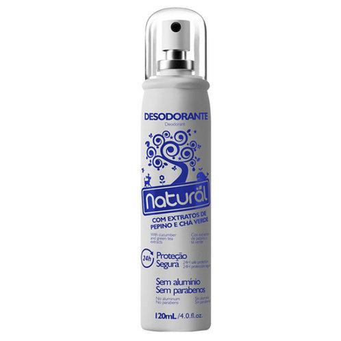 Desodorante de Pepino Orgânico Natural 120ml
