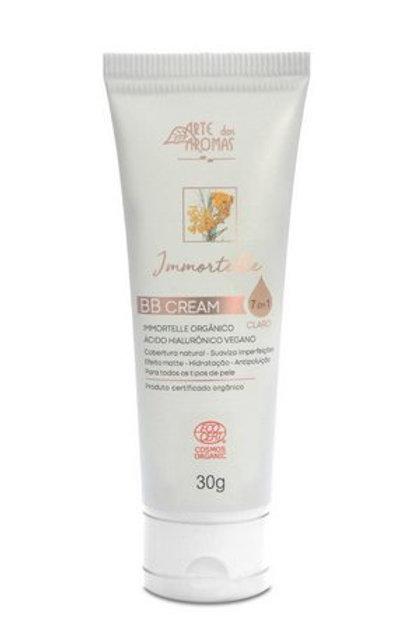 BB Cream Immortelle com Ácido Hialurônico Arte dos Aromas 30g - Cor Média