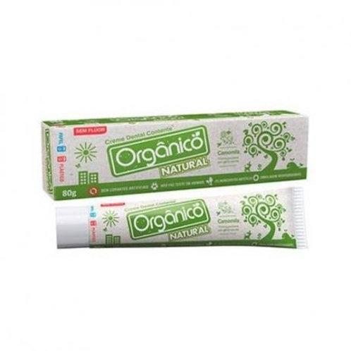 Creme Dental de Camomila Orgânico Natural