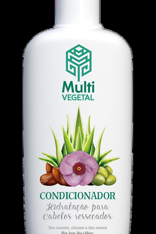 Condicionador Oliva, Argan, Aloe e Hibisco 240ml MultiVegetal