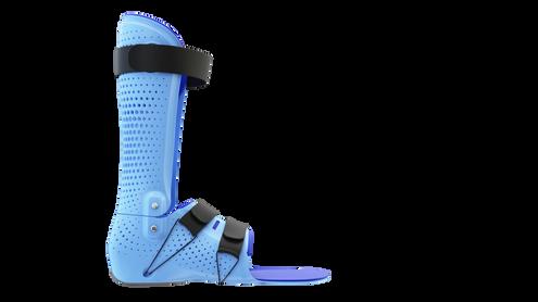 Dynamic 2 | Zur Führung mit vorgespannten Tamarack-Gelenken im Knöchelbereich, z.B. bei Spitzfußstellung oder Fußheberschwäche einsetzbar.