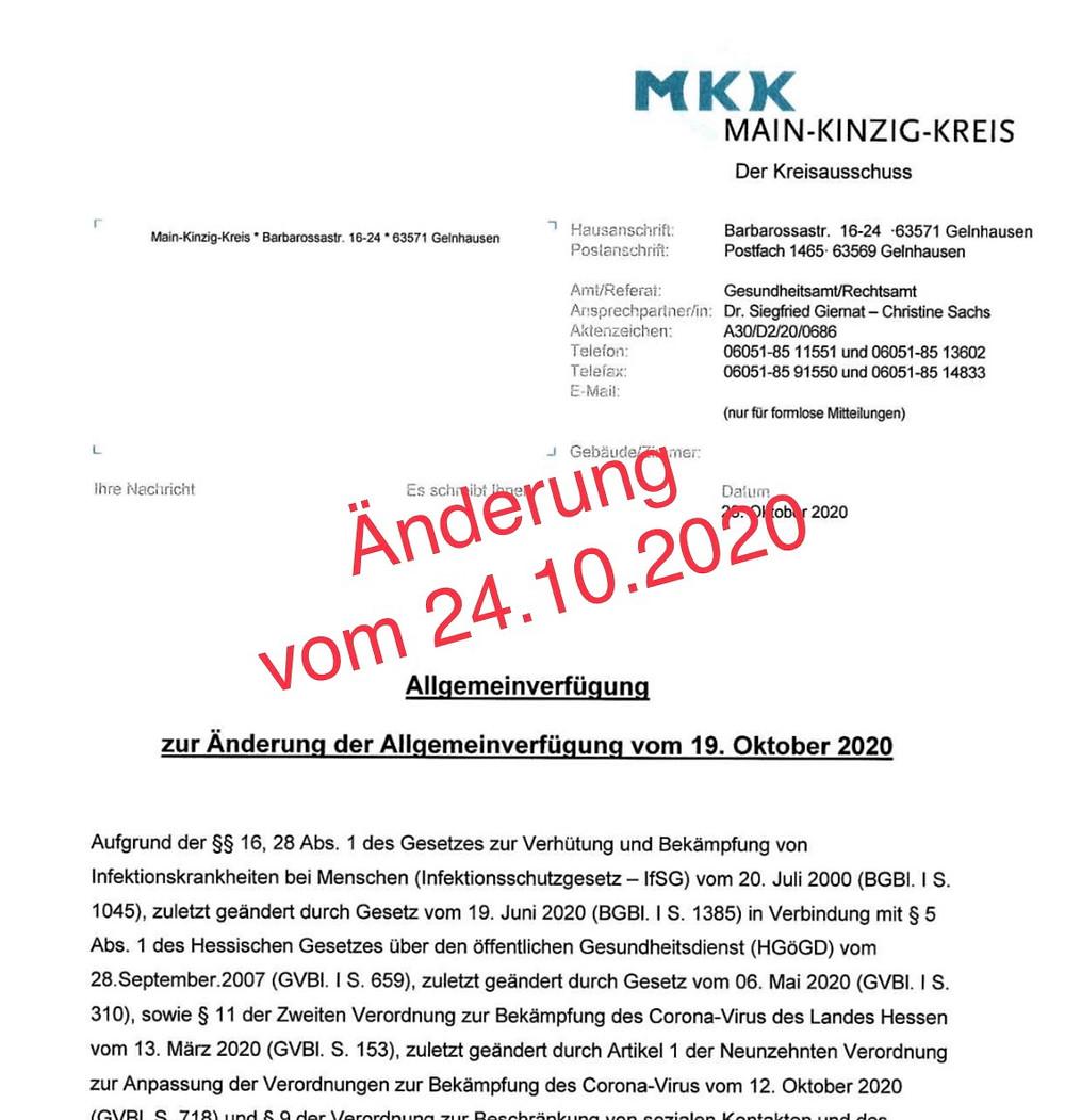 PDF Änderung Allgemeinverfügung MKK Kontaktbeschränkung