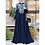 Thumbnail: Bangladesh Abayas Kimono for Women Burka Arabic Print Dress Festa Dubai Abaya