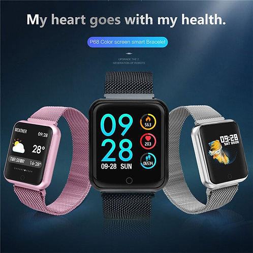 Weather Heart Rate Monitor Blood Pressure  for IPhone Huawei Samsung Xiaomi