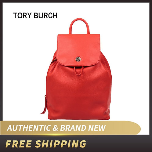 Authentic Original & Brand New Luxury Tory Burch Brody Pebbled Leather Backpack