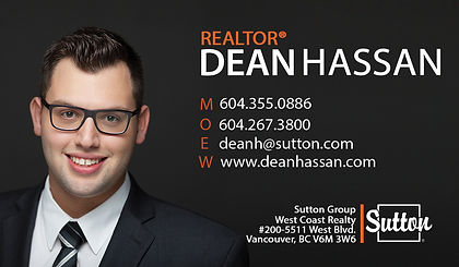 Dean Hassan, Realtor, Sutton Group