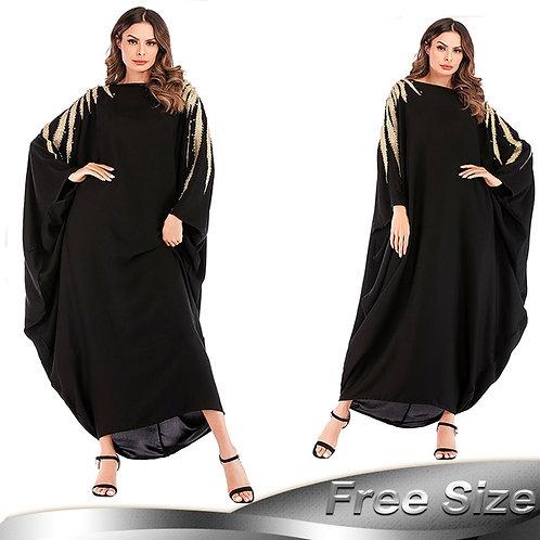 Abaya Dubai Kaftan Arab Islam Pearls Muslim Hijab Dress Caftan