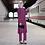 Thumbnail: Two Piece Sets Tops and Pants Women Turkey Muslim Abaya Split Abaya Dresses
