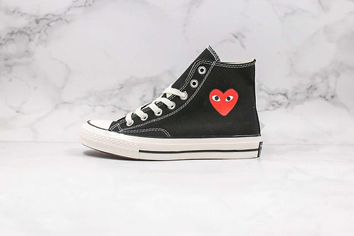 2020 Converse- All Star Classic CDG PLAY X 1970s Unisex Shoes