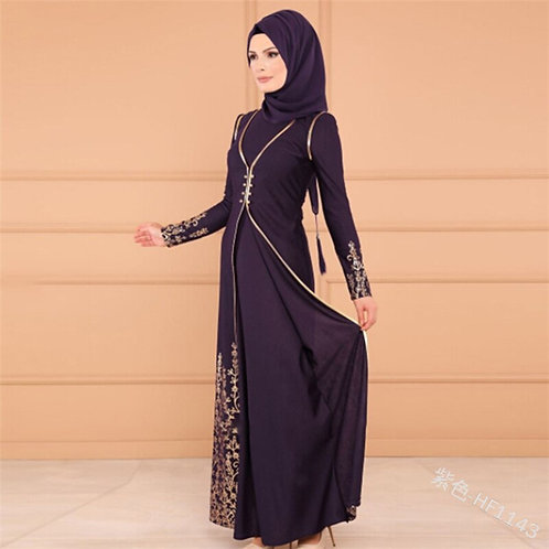 Vestidos Long Muslim Abaya Turkey Islamic Arabic Hijab Dress Caftan Dubai Kaftan