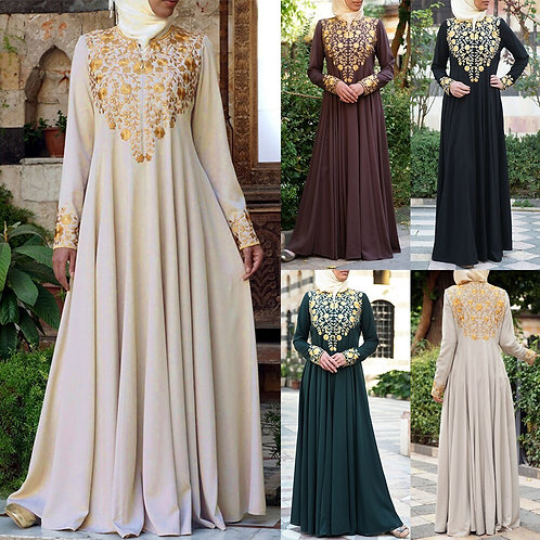 Djelaba Femme Muslim Dress Dubai Abayas for Women Hijab Evening Dress