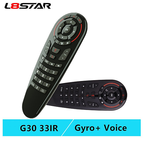 33 Keys IR Learning Wireless Smart Remote for Android Tv Box X96 Mini