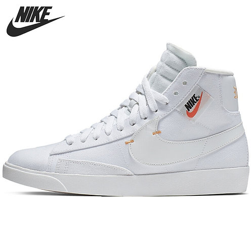 Original New Arrival NIKE W BLAZER MID REBEL Women's Skateboarding Shoes