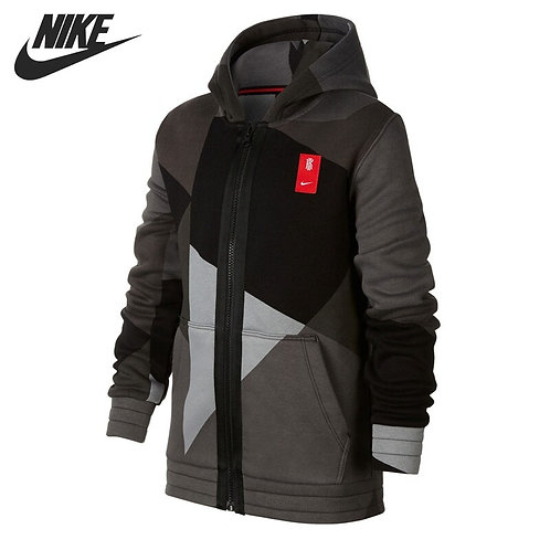 Original New Arrival NIKE B NK  FLEECE FZ Men's  Jacket Hooded Sportswear