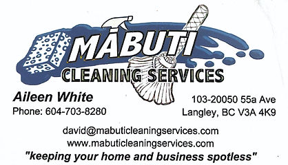 Mabuti Cleaning - Nov 19 2020 - 1-12 PM.