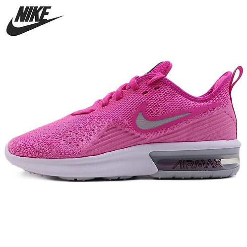 Original New Arrival NIKE WMNS NIKE AIR MAX SEQUENT 4 Women's  Running Shoes