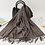 Thumbnail: 2019 Hot Sale Men Cashmere Scarf Unisex Thick Warm Winter Scarves Black and Gray