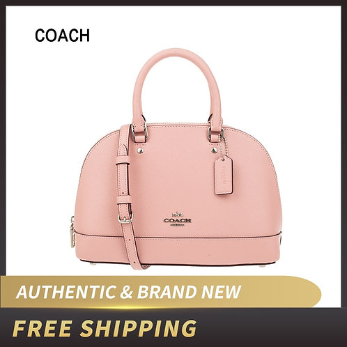Coach Womens Shoulder Inclined Shoulder Handbag Mini Sierra Satchel Purse