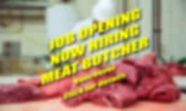 Job Posting - Meat Butcher 2019-06-16-01