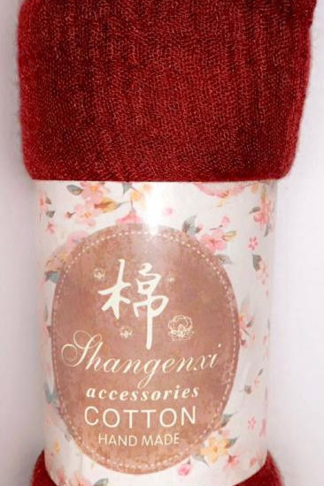 Maroon Pashmina Soft and Easy to Wash