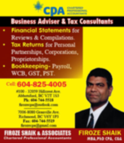 Firoze Shaikh & Associates, Chartered Professional Accountants