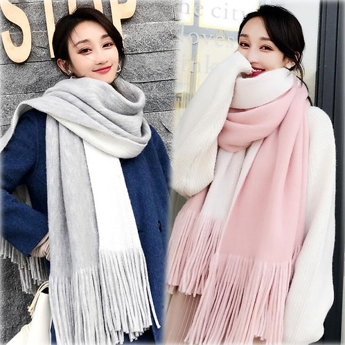New Arrival Fashion Temperament Ladies High Quality Knit Comfortable Warm Scarf